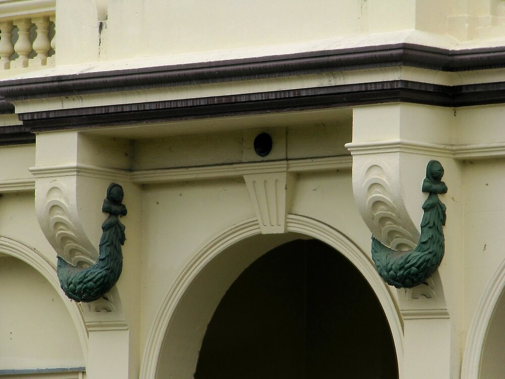 Criterion Hotel - Fitzroy Street Entrance Detail by Gryphonn