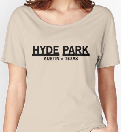 Hyde Park - Austin, Texas Relaxed Fit T-Shirt