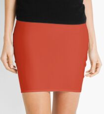 Summer Fig Solid Color Trend Autumn Winter 2019 2020 Mini Skirt