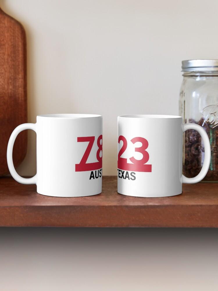 Alternate view of 78723 - Austin, Texas ZIP Code Mug