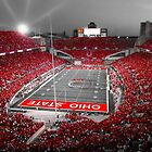"""A Scarlet Stage"" Ohio State Buckeyes Prints, Cards, More by Kenneth Krolikowski"