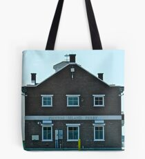 Fishers Island Ferry Building Tote Bag