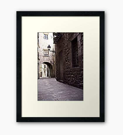 Barcelona 03 Framed Print