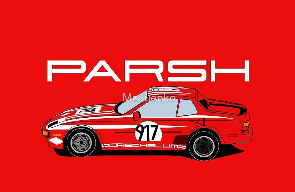 The Porschelump 944 Racecar by Maxyenko