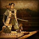 Momotarō, the peach boy by Ivy Izzard