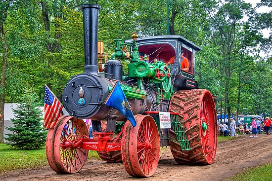 Case Steam Tractor Diagram : Quot hp case steam tractor posters by ech redbubble