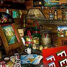 Boatyard Paintshop by Brian Tarr
