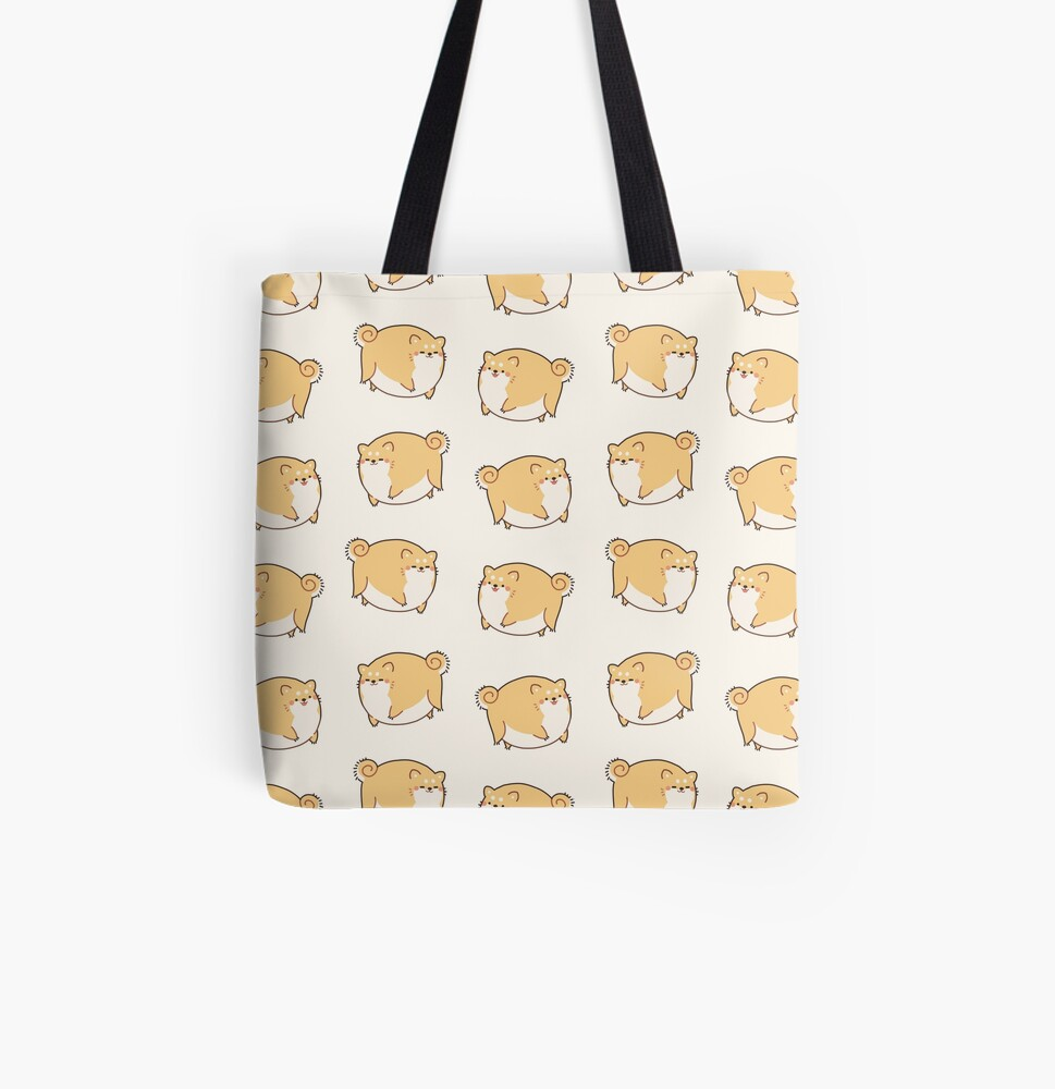 Round Shibes ! All Over Print Tote Bag