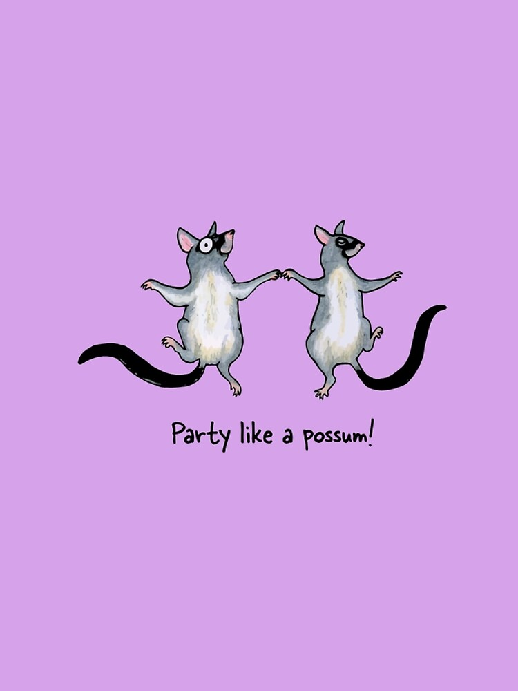 Party like a possum! Raising funds for Wildcare Australia Inc. by PaperbarkW