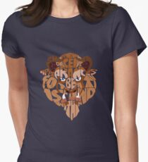 beast Women's Fitted T-Shirt