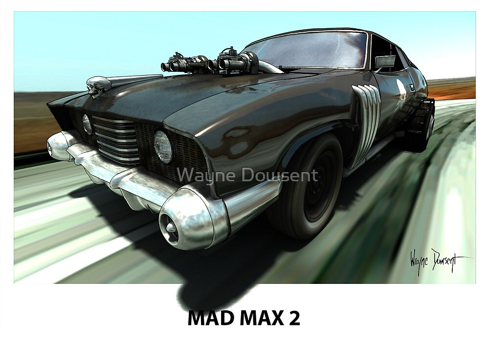 MAD MAX 2 LANDAU COUPE by Wayne Dowsent