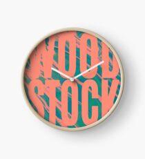 WOODSTOCK Clock