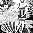 Cabaret Birth Of Venus: Amanda Palmer by ZugArt