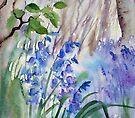 Impression Bluebells by Ann Mortimer