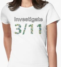 Investigate 311 Womens Fitted T-Shirt
