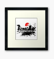 Japan - Kyoto Gerahmtes Wandbild
