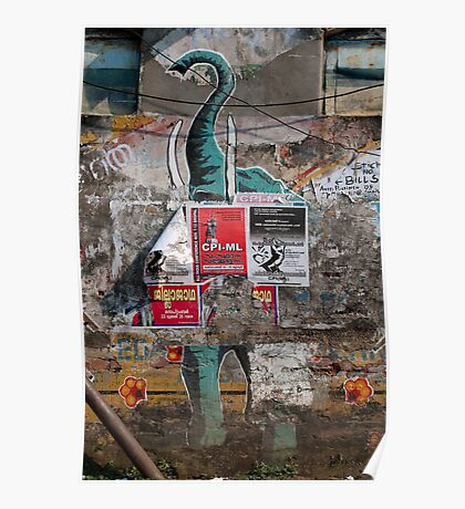 Elephant, Cochin Poster