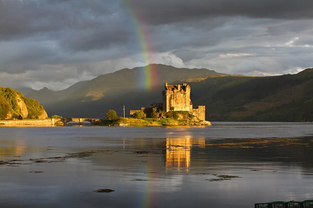 Quot Rainbow Over Eilean Donan Castle Highlands Scotland