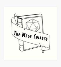 The Mage College logo Art Print
