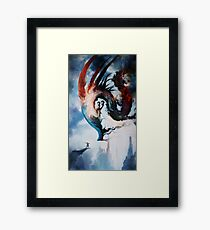 The Storm Queen Framed Print