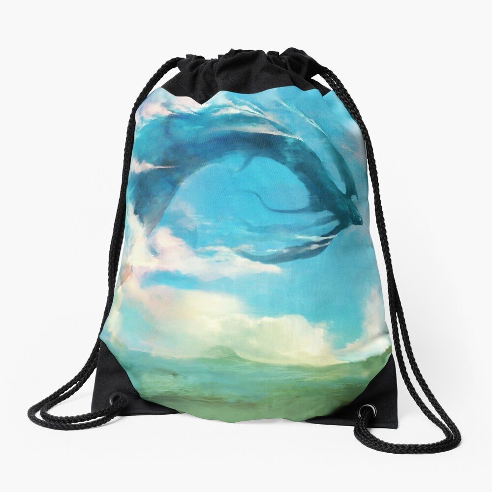 The Storm King Drawstring Bag