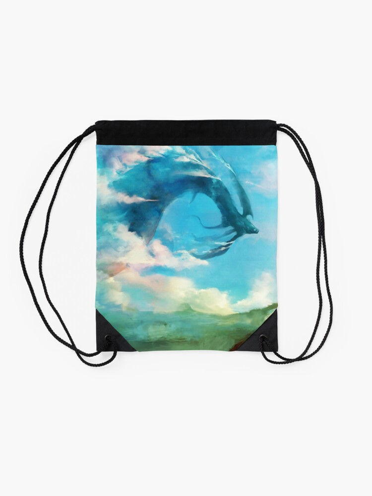 Alternate view of The Storm King Drawstring Bag