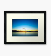 Desolate Sunrise Framed Print