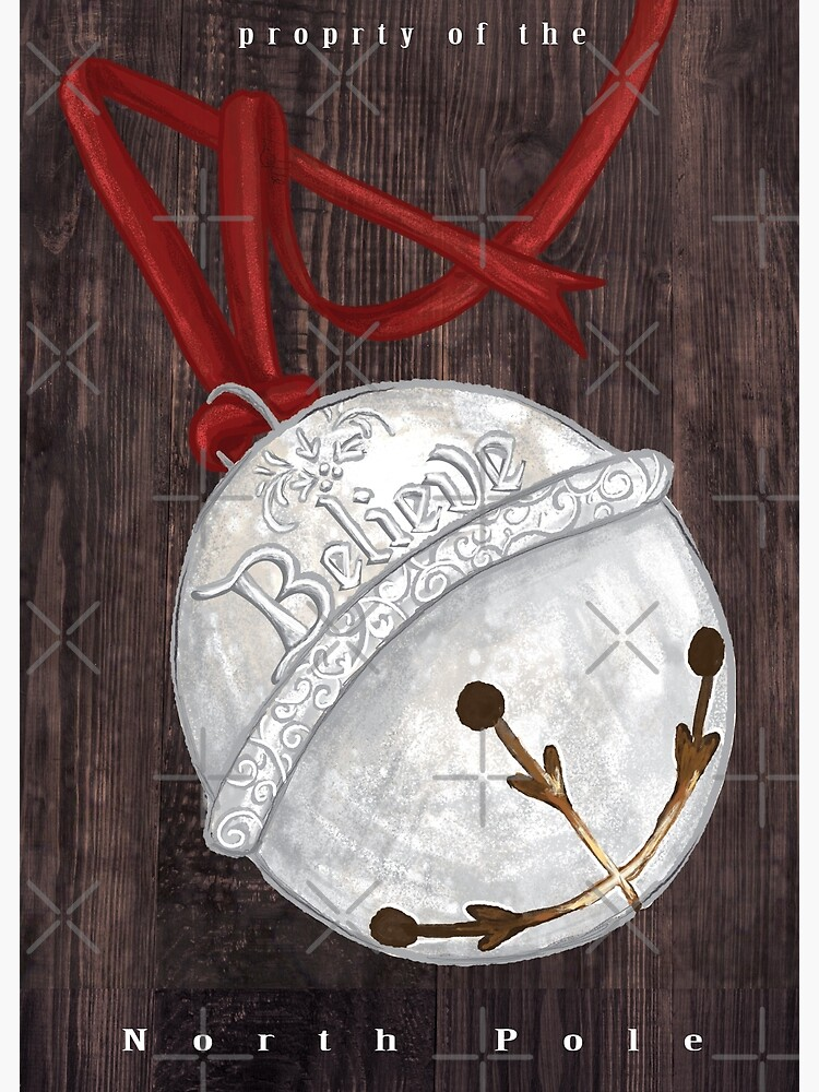 I Believe - Polar Express Bell by tinaschofield