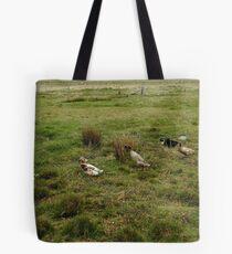 Parade der Enten Tote Bag