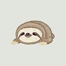 Sloth lying down by Toru Sanogawa