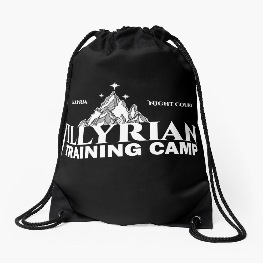 Illyrisches Trainingslager, Cassian, Azriel, Rhysand, ACOTAR, Nachtgericht, Dornen und Rosen Turnbeutel