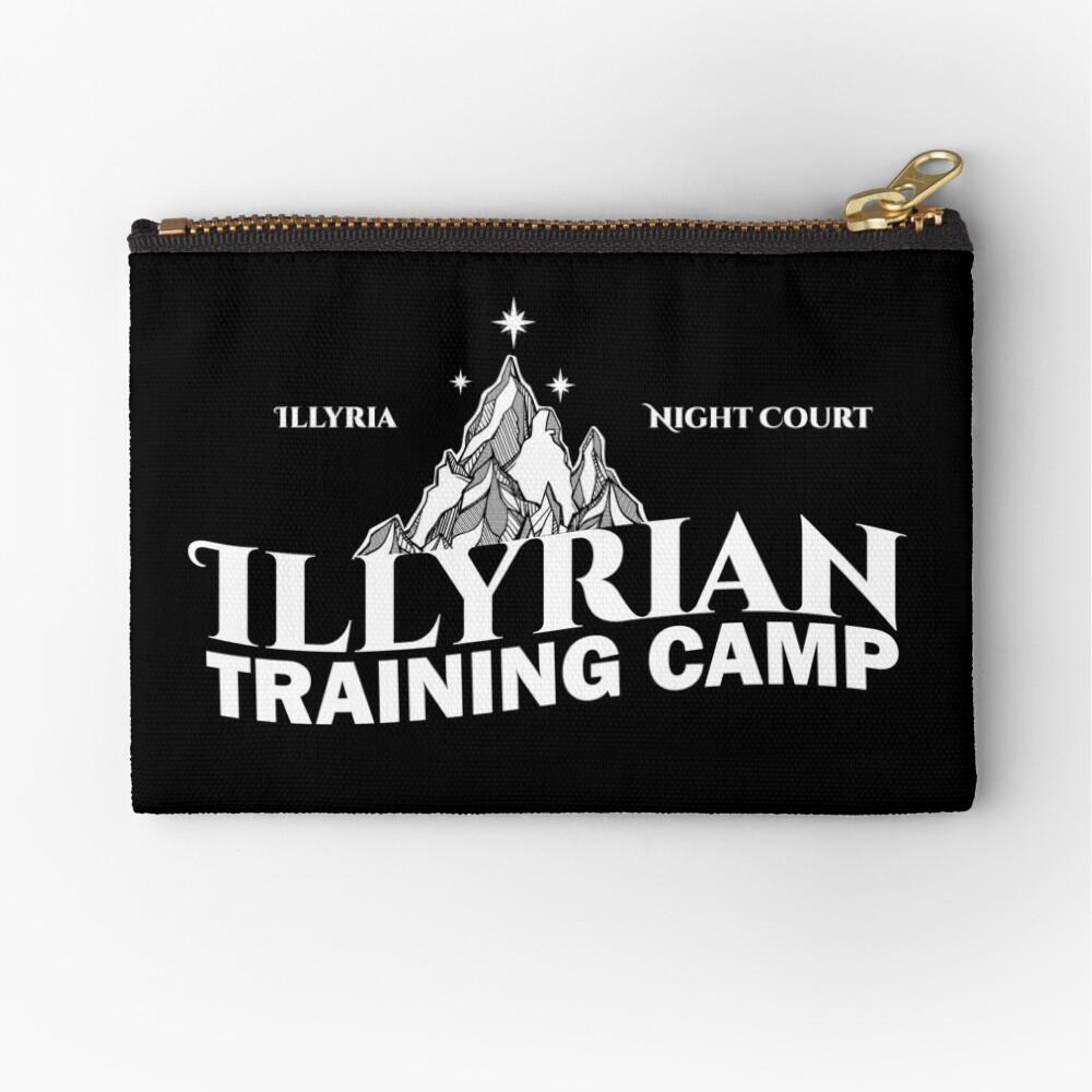 Illyrisches Trainingslager, Cassian, Azriel, Rhysand, ACOTAR, Nachtgericht, Dornen und Rosen Täschchen