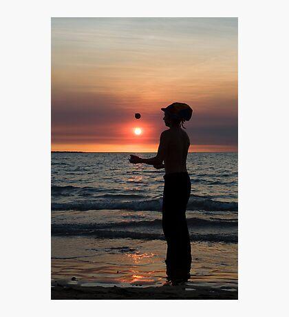 The Juggler - Mindil market, Darwin Photographic Print
