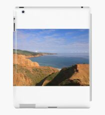 Hills above the water iPad Case/Skin