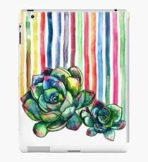 Vinilo o funda para iPad Suculentas del arcoíris