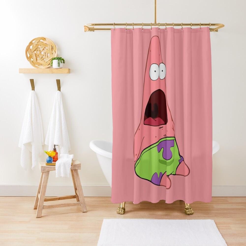 Surprised Patrick Shower Curtain