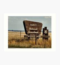 Pawnee, Colorado Art Print