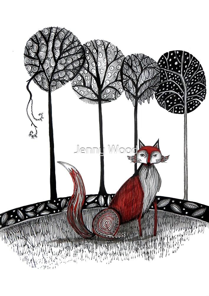 « Jamais le renard » par Jenny Wood