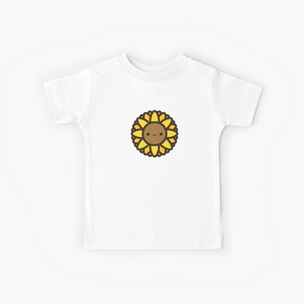 Cute sunflower Kids T-Shirt