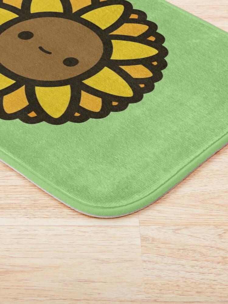 Alternate view of Cute sunflower Bath Mat