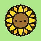 Cute sunflower by peppermintpopuk
