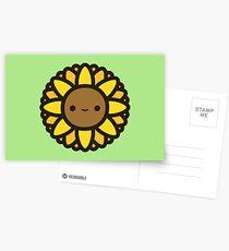 Cute sunflower Postcards