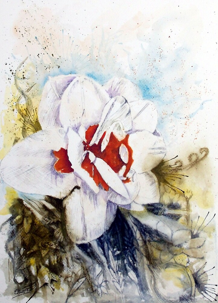 Floral Fantasy by Pat  Elliott