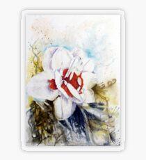 Floral Fantasy Transparent Sticker