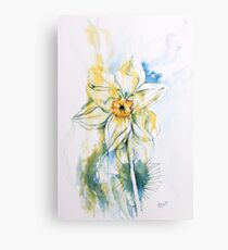 Daffodil Dance Metal Print
