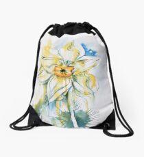 Daffodil Dance Drawstring Bag