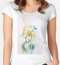 Daffodil Dance Fitted Scoop T-Shirt
