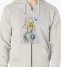 Daffodil Dance Zipped Hoodie