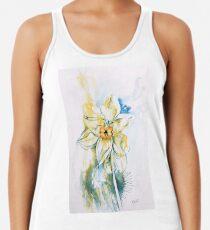 Daffodil Dance Racerback Tank Top