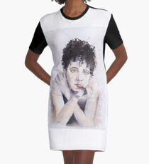 After the Show Graphic T-Shirt Dress